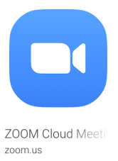 Screen Shot Zoom Meeting App